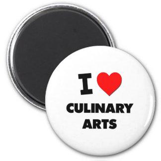 I love Culinary Arts Refrigerator Magnets