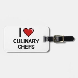 I love Culinary Chefs Bag Tags