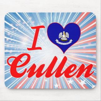 I Love Cullen, Louisiana Mouse Pad