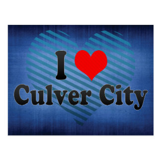 I Love Culver City, United States Postcard