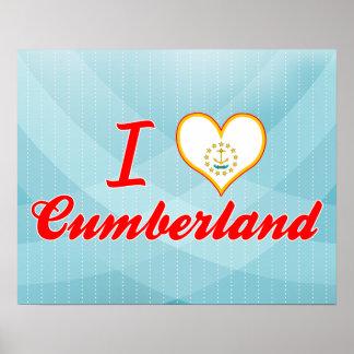 I Love Cumberland, Rhode Island Print