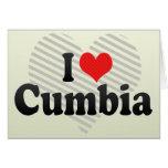 I Love Cumbia Greeting Card