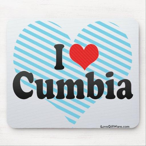 I Love Cumbia Mouse Pad