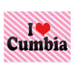 I Love Cumbia Postcard
