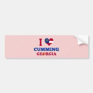 I Love Cumming, Georgia Bumper Stickers