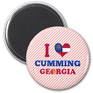 I Love Cumming, Georgia Magnet