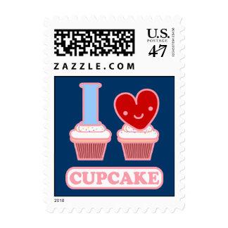 I Love Cupcake Postage