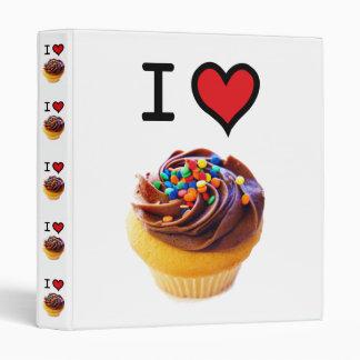 I Love Cupcakes baking or recipe binder