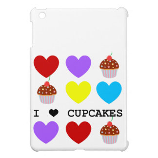 i love cupcakes bright design cupcake cover for the iPad mini