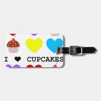 Cupcakes Luggage Tags, Cupcakes Bag Tags