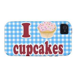 I Love Cupcakes Case-Mate iPhone 4 Cases
