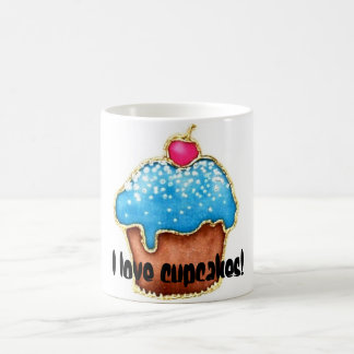 I love cupcakes coffee mug