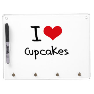 I love Cupcakes Dry Erase Whiteboard
