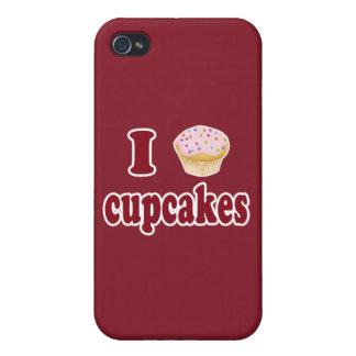 I Love Cupcakes iPhone 4 Case