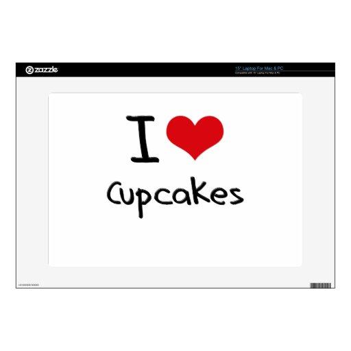 I love Cupcakes Laptop Skins
