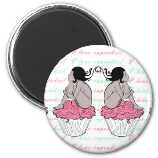 I love cupcakes - magnet