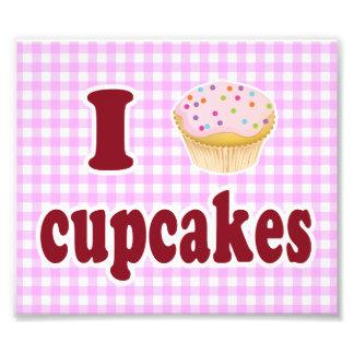 I Love Cupcakes Photo Art