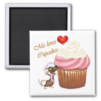 I love Cupcakes Refrigerator Magnet