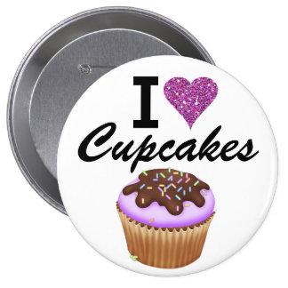 I Love Cupcakes - SRF Button