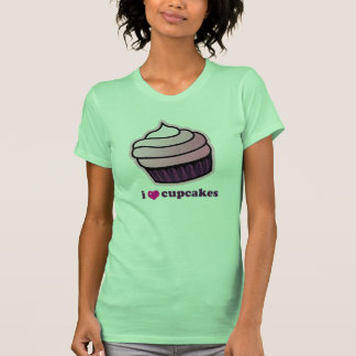 i love cupcakes t-shirts
