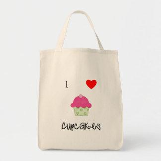 I love cupcakes tote bag
