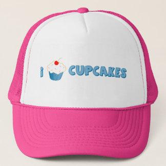 I Love Cupcakes Trucker Hat