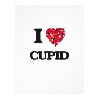 "I love Cupid 8.5"" X 11"" Flyer"