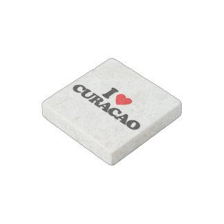I LOVE CURACAO STONE MAGNET