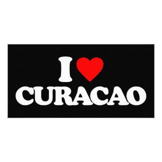 I LOVE CURACAO CUSTOM PHOTO CARD