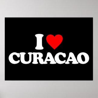 I LOVE CURACAO PRINT