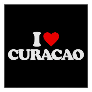 I LOVE CURACAO POSTERS