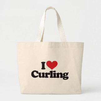 I Love Curling Bag