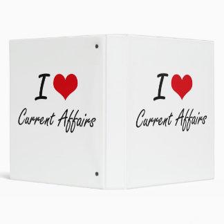 I love Current Affairs Binder