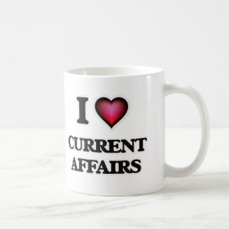 I love Current Affairs Coffee Mug