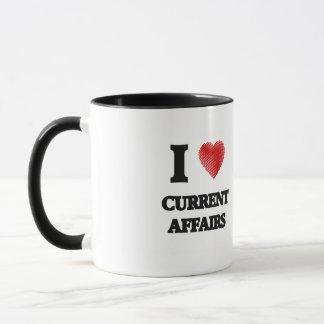 I love Current Affairs Mug