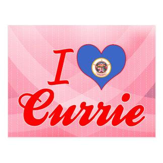 I Love Currie, Minnesota Postcard