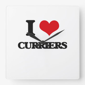 I love Curriers Square Wall Clocks