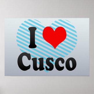 I Love Cusco, Peru Posters