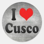 I Love Cusco, Peru Stickers