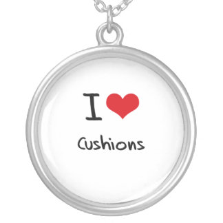I love Cushions Personalized Necklace