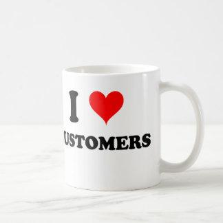 I Love Customers Coffee Mug