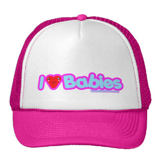 I love cute Kawaii heart t-shirts Trucker Hat