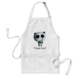 I love Cute Pandas Aprons