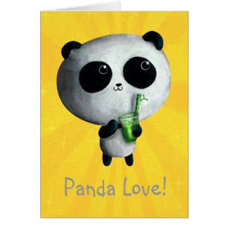 I love Cute Pandas Card