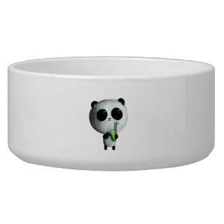I love Cute Pandas Pet Food Bowls