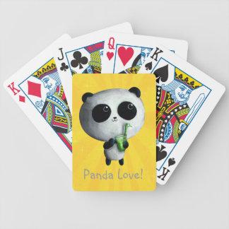 I love Cute Pandas Poker Deck