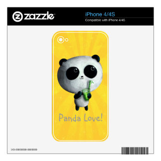 I love Cute Pandas Skins For The iPhone 4