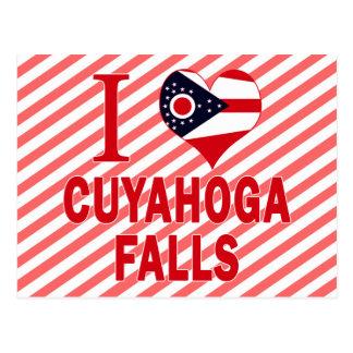 I love Cuyahoga Falls, Ohio Postcard