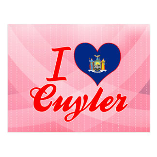 I Love Cuyler, New York Postcard