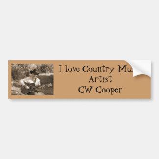 I Love CW Bumper Sticker